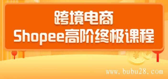 (18期)2020跨境电商蓝海新机会-shopee大卖特训营:高阶终极课程(16节课)